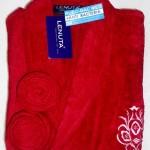 KIMONO LENUTA ANTIBACTERIA SIZE ( L ) Merah Rp.300.000,-/pcs